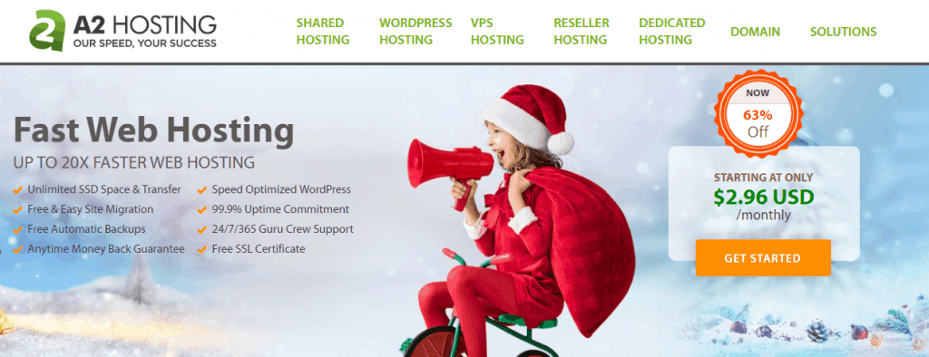 a2 hosting homepage A2 Hosting Black Friday Cyber Monday Deal 2020: Get 63% OFF Now