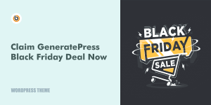generatepress black friday