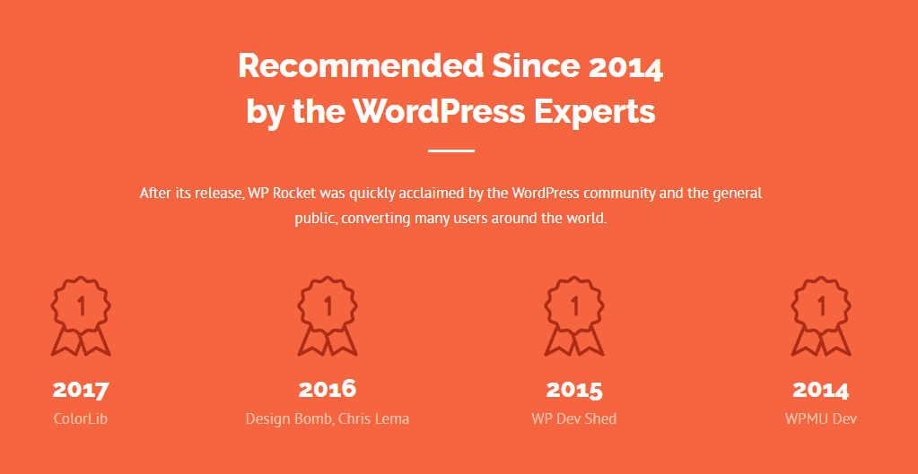 WP Rocket recommended by Wordpress WP Rocket Black Friday Deal | Get 35% OFF on #1 WordPress Caching Plugin